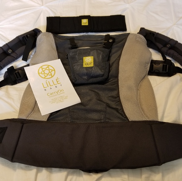 Lille Baby Toddler Carrier With Tummy Pad